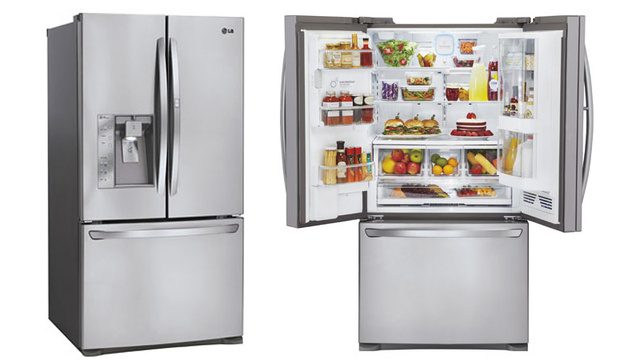 This Double-Doored Fridge Has Extra Space for Your Condiment Collection