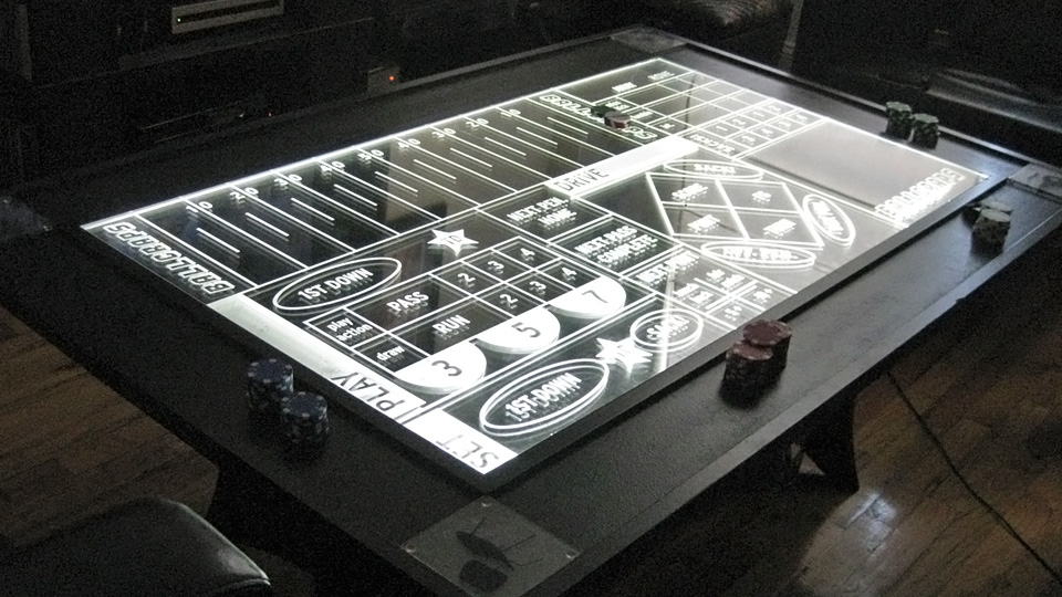 Click here to read Bet On Every Single Football Play With This Beautiful Edge Lit Table