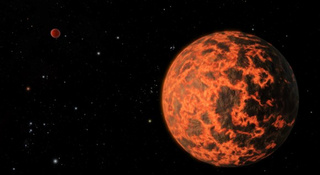 Astronomers discover nearby exoplanet covered in magma