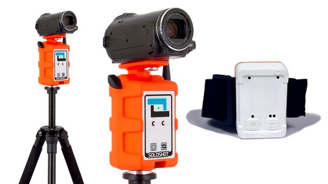 Auto Tracking Camera Mount Lets Thrill-seekers Film Their Own Adventures