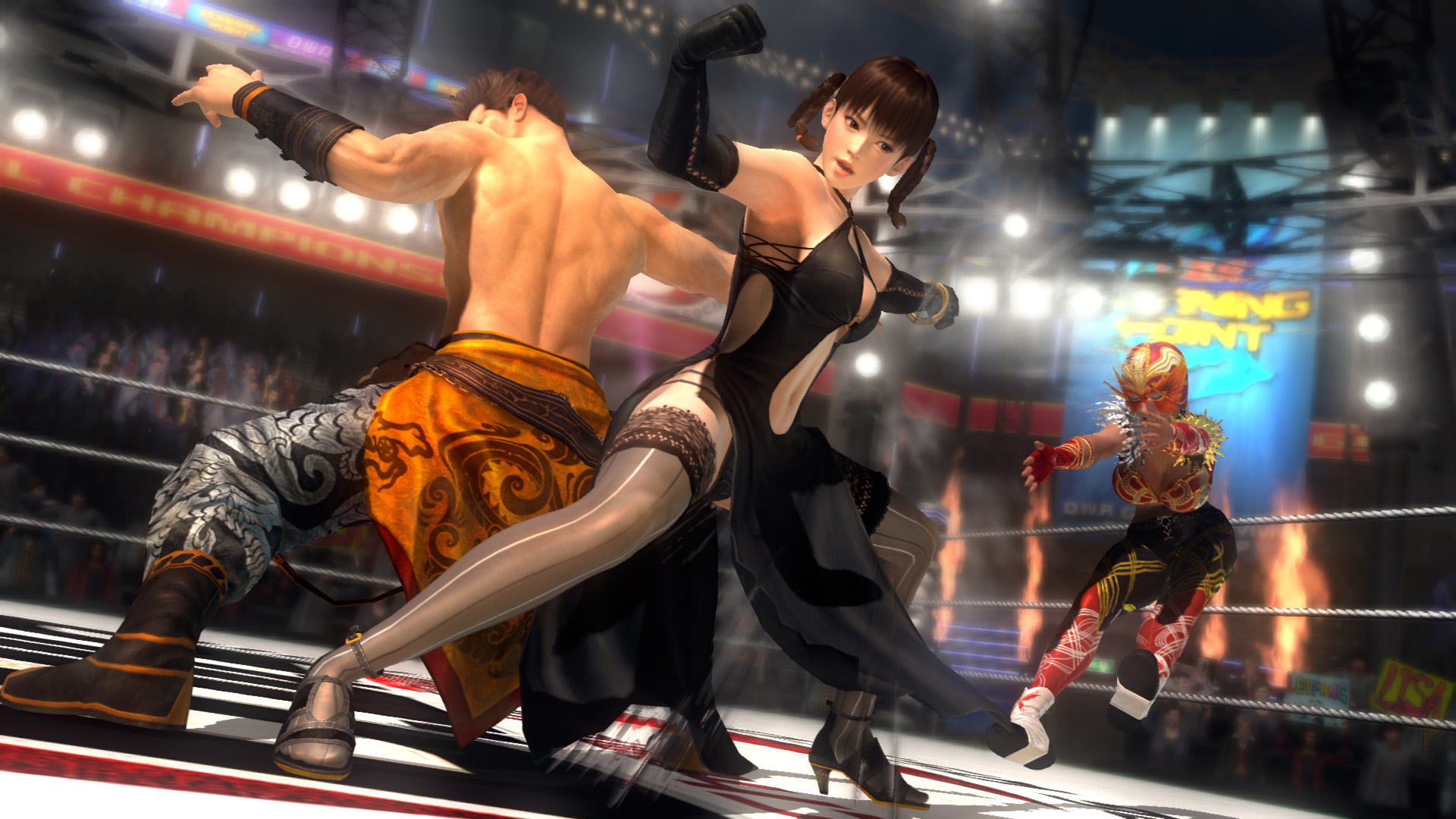 Last Round Dead or Alive 5