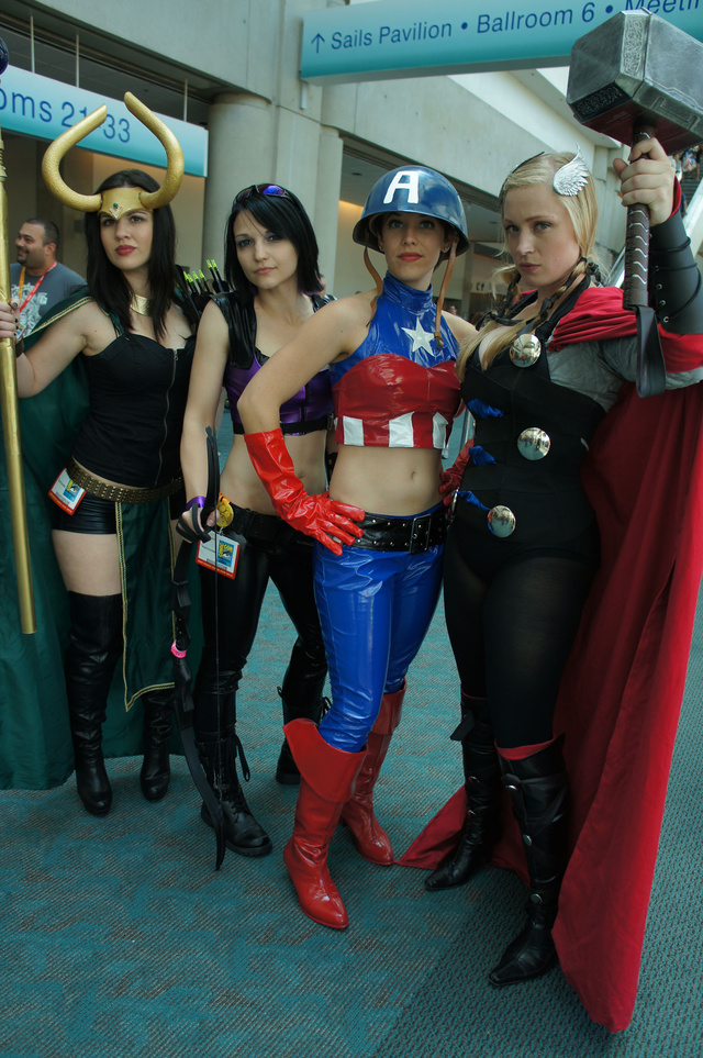 More Marvel Cosplay!