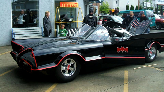 The 'Lamborghini Batman' Just Got A Real Batmobile To Visit Sick Kids Across The Country
