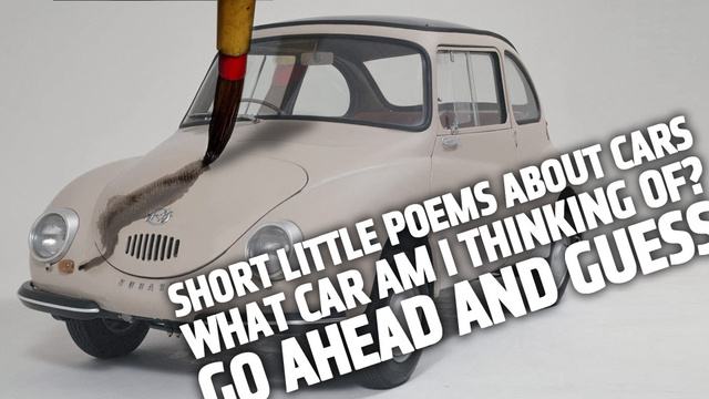 The Great Car Haiku Quiz