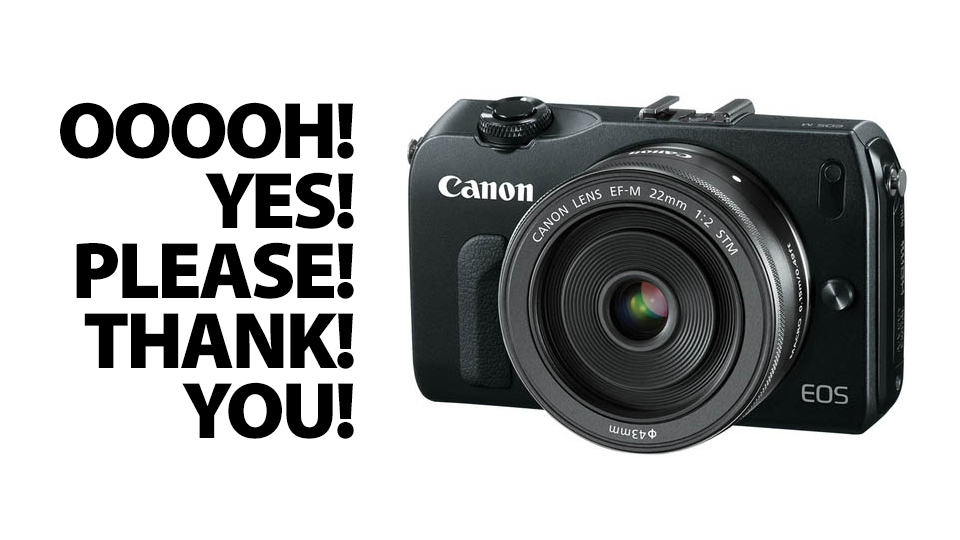 Click here to read Canon EOS M: Finally, a Tiny Camera Designed to Slurp HD Video That Slays