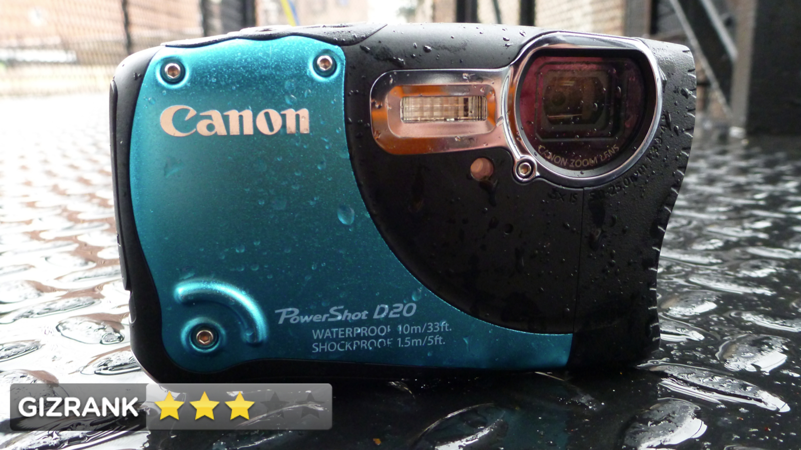 Click here to read Canon PowerShot D20 Review: Tough Camera, Weak Performance