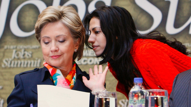 No, Huma Abedin Is Probably Not Trying to Get a Job via People Magazine