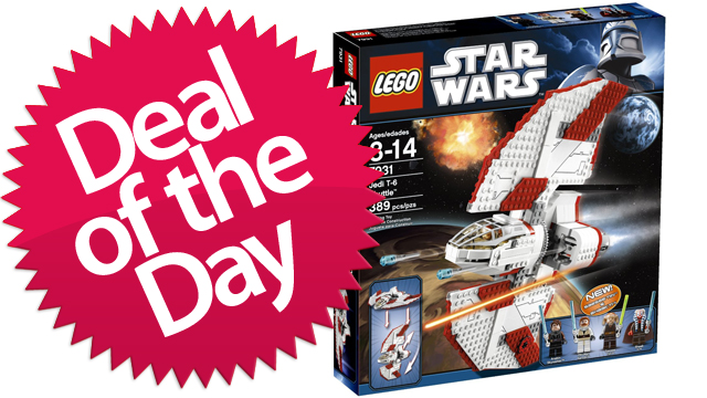This Lego T-6 Jedi Shuttle Is Your Don't-Try-The-Kessel-Run-With-This-One Deal of the Day [Dealzmodo]