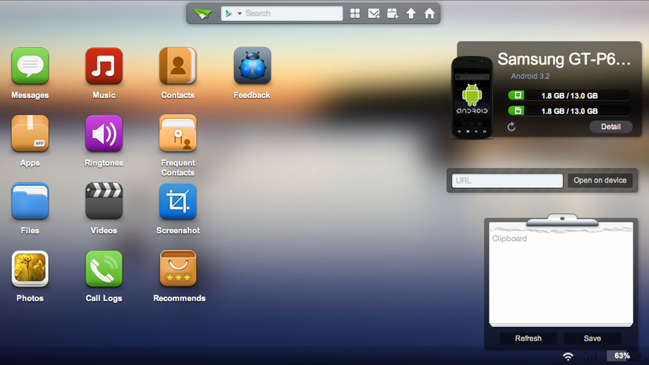 Click here to read AirDroid Controls Your Android Phone or Tablet from Any Modern Web Browser