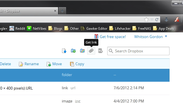 Click here to read Share Multiple Files from Your Dropbox Folder Without Zipping Them