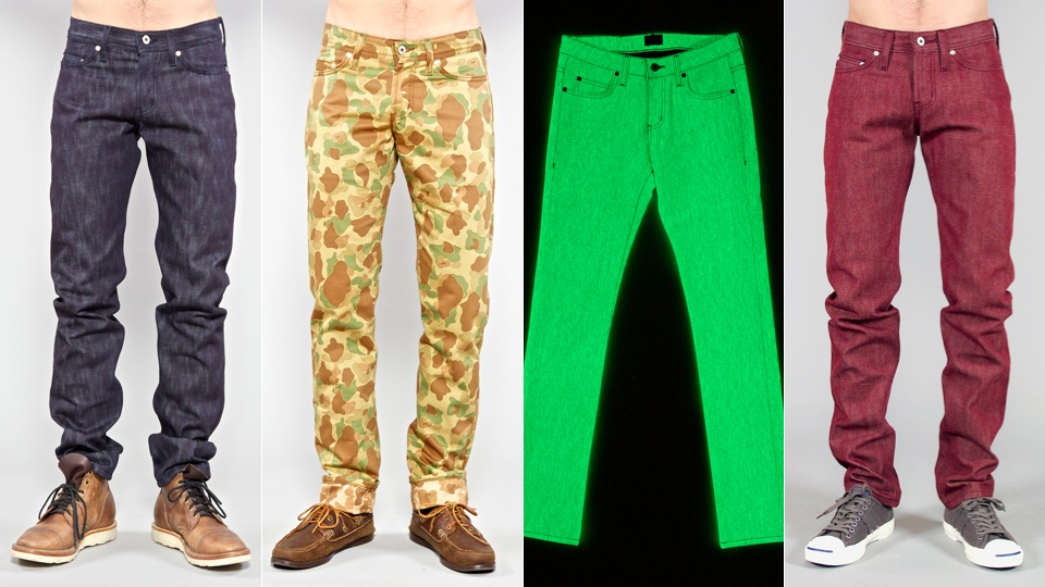 Click here to read The Craziest Jeans Company Is Making Camo Denim, Bumpy Denim, Jeans that Marbleize and More
