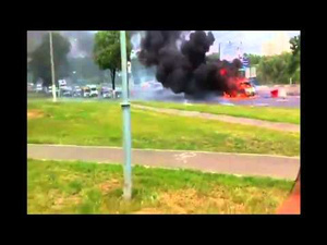 It Seems that Cars Can Explode In Real Life Just Like In the Movies