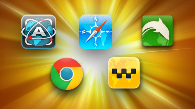 Five Best iOS Web Browsers