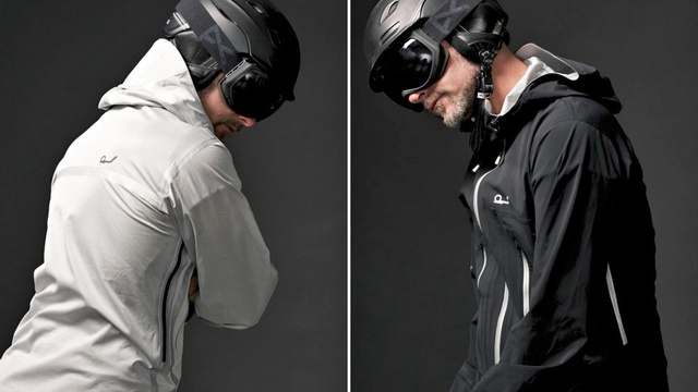 All-Season Jacket Turns Inside-Out To Keep You Warm Or Cool