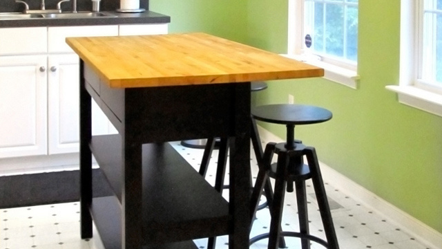 Ikea Kitchen Island Installation Guide ~ Want a kitchen island but don't have a lot to spend? Combining an IKEA