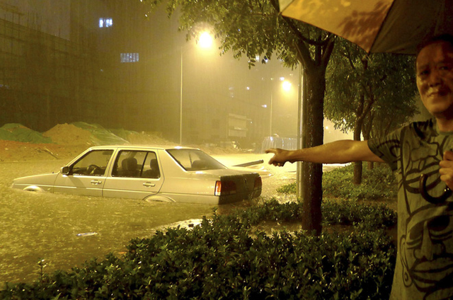 Beijing Flooding is Surreal and Awful