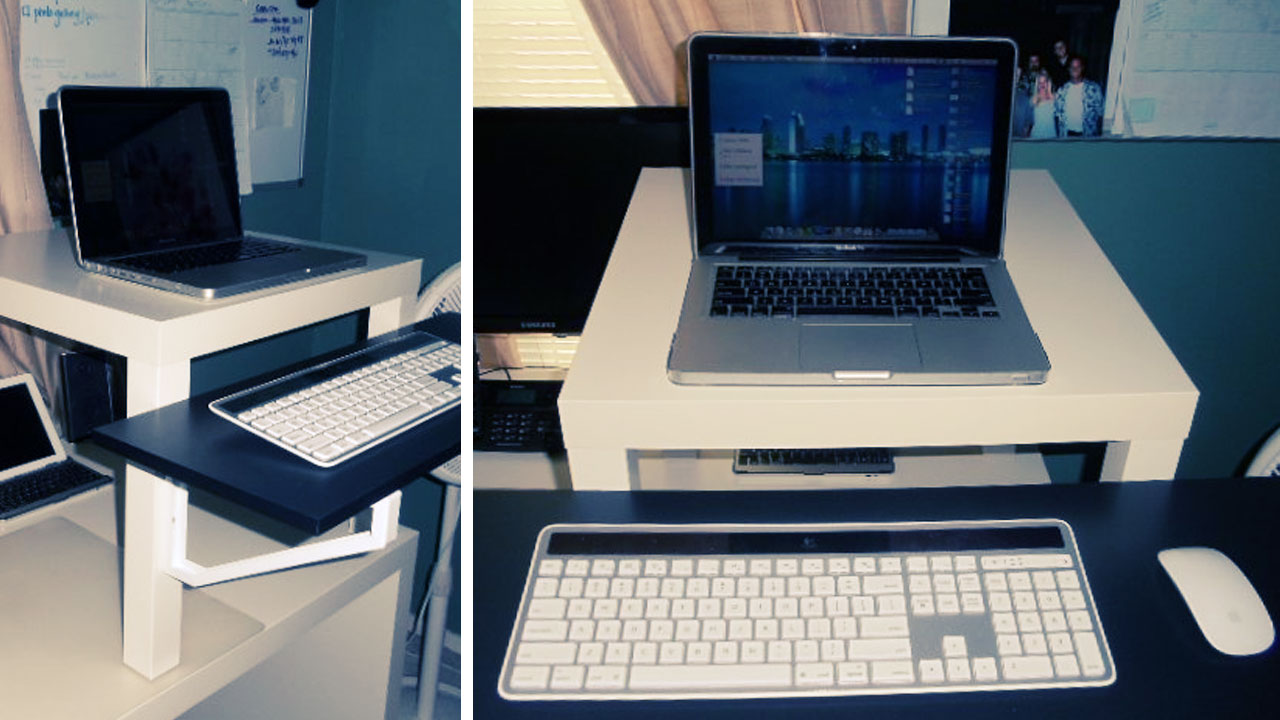Click here to read A Simple, Portable, Inexpensive Standing Desk Solution