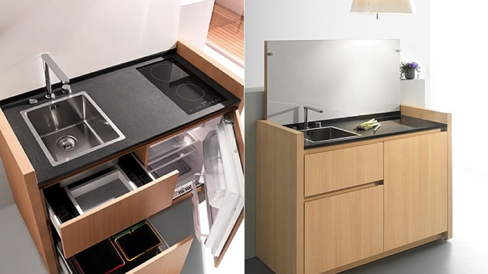 Or Maybe You Just Like To Keep Everything Out Of View. Either Way,  Kitchoou0027s Compact Kitchens Condense Appliances And Storage Space Together  Into Very Small ...