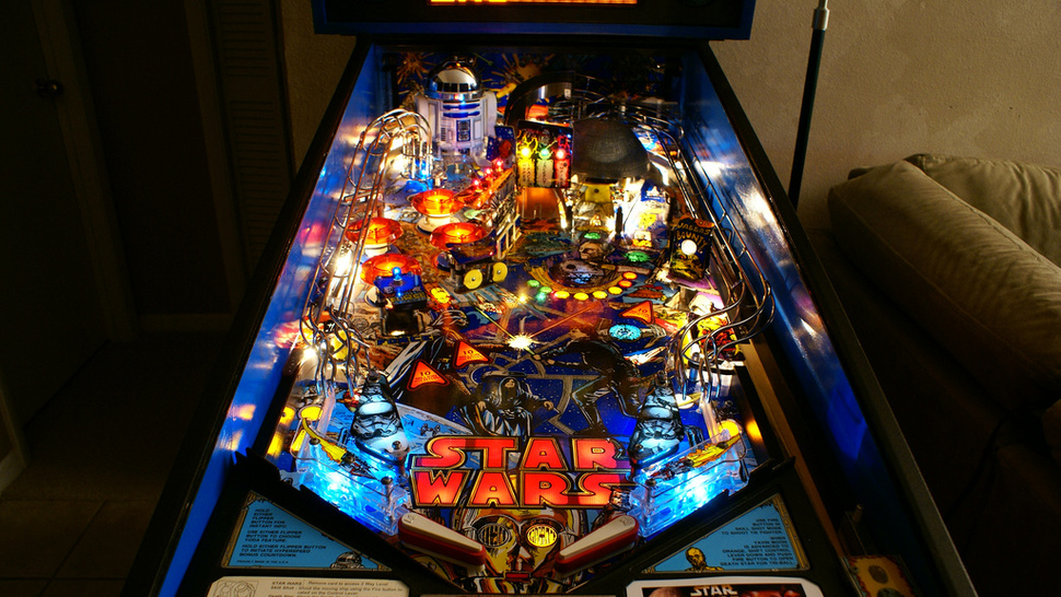 <em>Star Wars</em> Used to be Uncool. Pinball Helped Bring it Back.