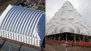 The 2012 London Olympics Will be the First to Use This Recyclable Basketball Stadium
