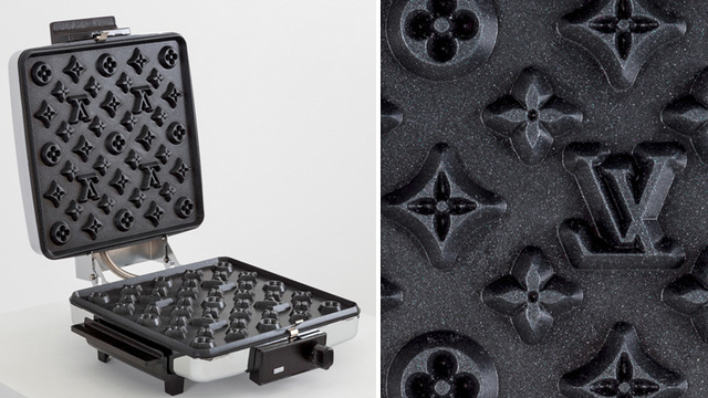 Dammit, Why Can't This Louis Vuitton Waffle Maker Just Be a Real Product?