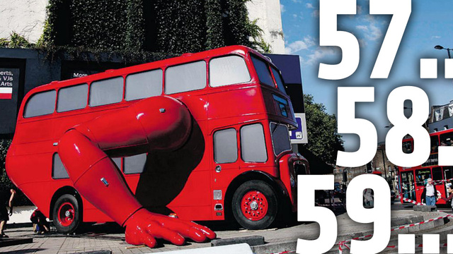 London Olympics Gets A Double Decker Bus That Does Push-Ups