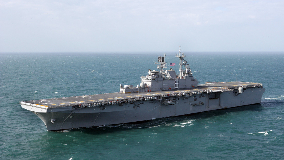 The <em>USS Makin Island</em> Is a Mean, Green, Amphibious Assault Machine