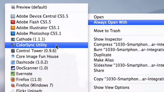 Click here to read Quickly Set Your Mac's Default App for Opening a File with the Option Key