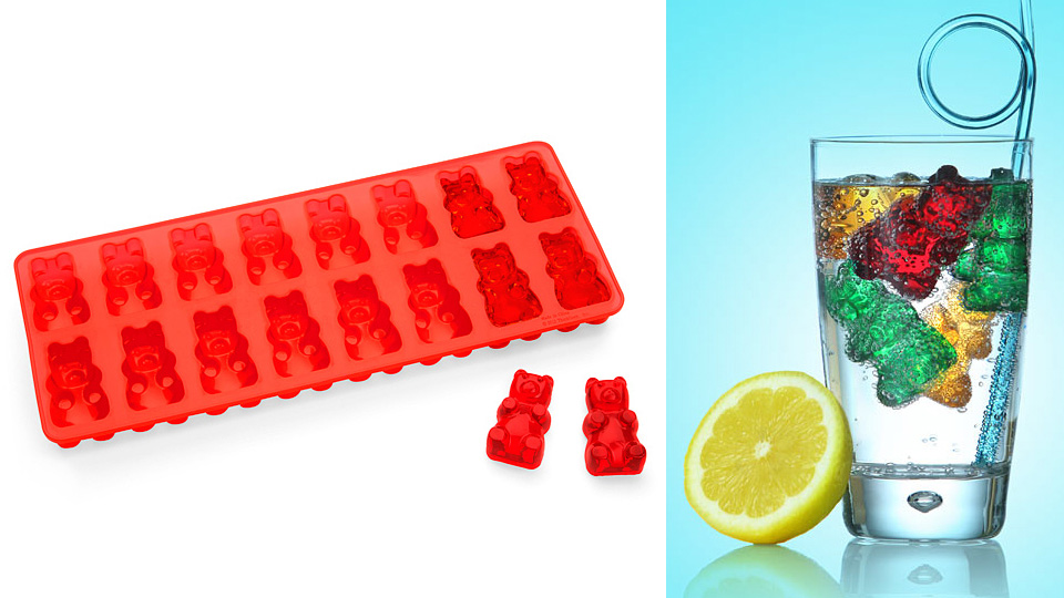 Click here to read Gummy Bear Ice Cubes Promise to Make Any Drink Infinitely More Fun