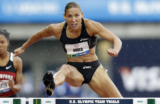 Lolo Jones's Hurdling Excellence Explained In One Cool Visualization