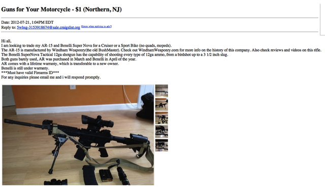 Buying a Ton of Guns on the Internet Is Cheap, Legal, and Shockingly Easy