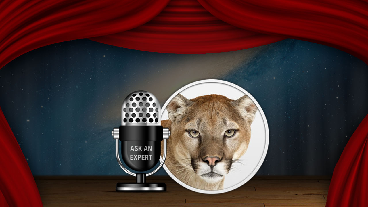 Click here to read Got Questions About Mountain Lion?  Ask Us!