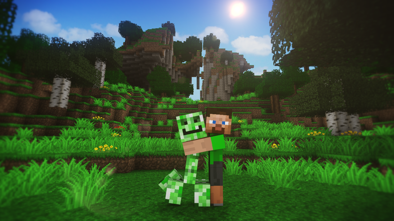Dad asks for advice on son s minecraft addiction gets - Minecraft creeper and steve ...
