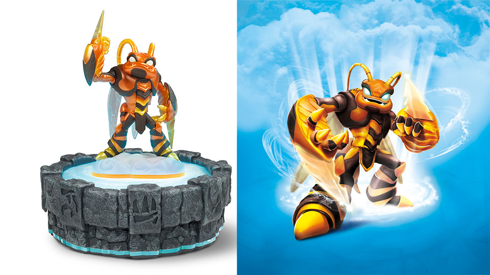 Click here to read The Newest <em>Skylander</em> is a Giant Bee, and They Didn't Name Him Bee-Hemoth