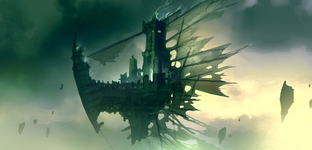 Darksiders II Environmental Concept Art