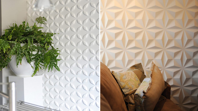 Fancy 3D Wallpaper Is Basically Thousands of Shelves for Dust