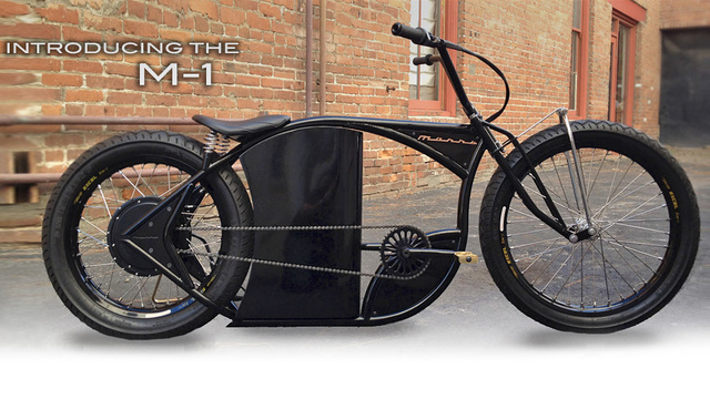 An Electric Bike That Looks Like a Harley