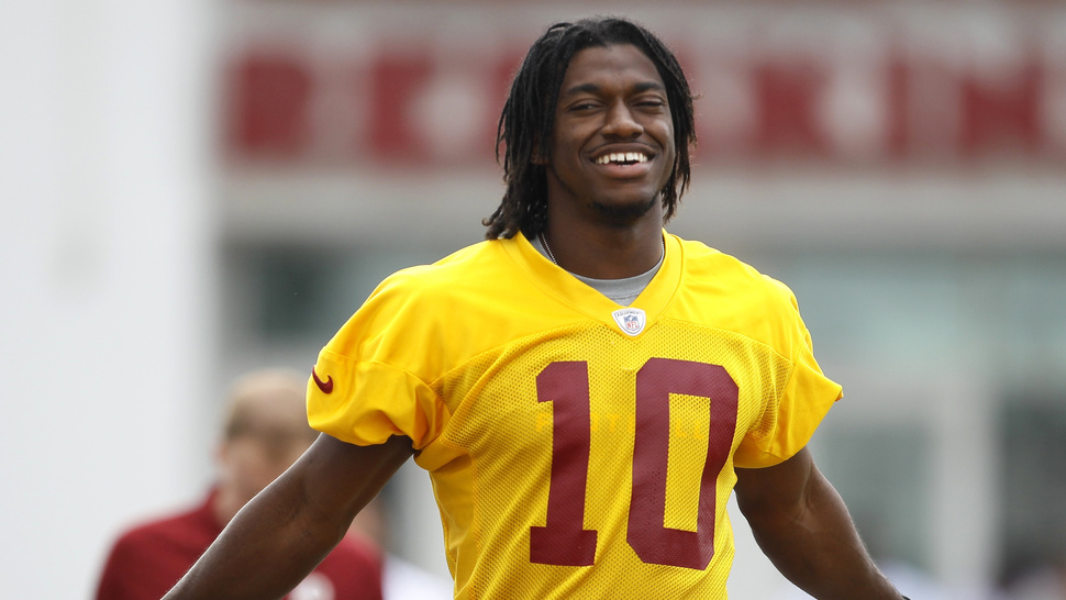 "Osi Umenyiora Thinks RG3 Should Be Called Plain Old ""Bob Griffin"""