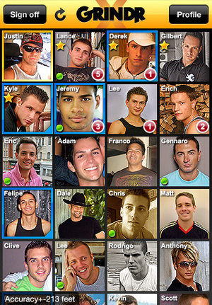 A couple of days ago, the gay cruising app Grindr crashed in London around ...