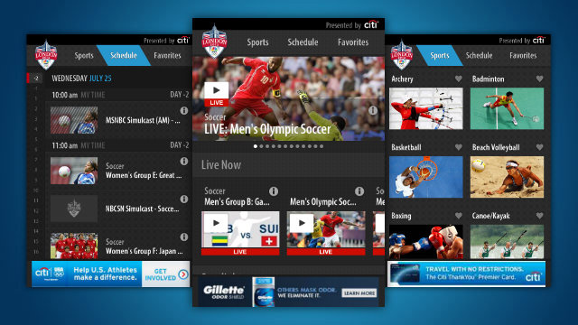 Keep Up with the 2012 Olympics with NBC's Olympic Apps for iOS and Android