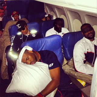 This Photo Of Team USA Sleeping On An Airplane Is The Best Thing Today
