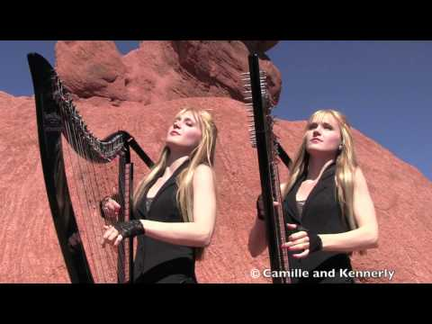 Click here to read Blonde Twins Playing A Metallica Cover On Harps While Standing In The Desert