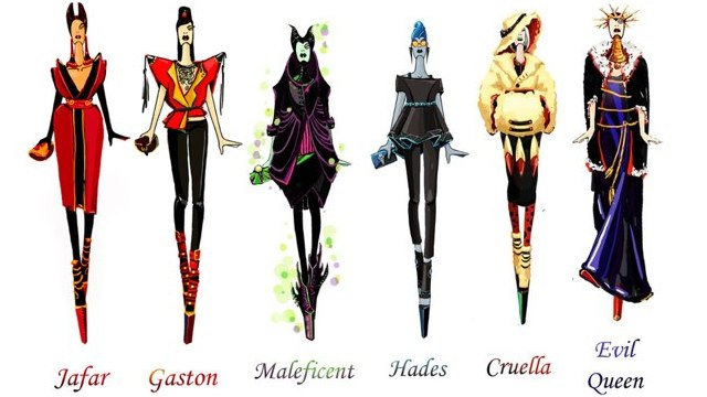 In the war of Disney fashion the villains win, yet again