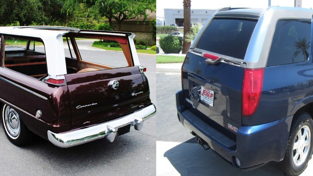 The Studebaker Wagonaire And GMC Envoy Offer Sliding Roof Fun