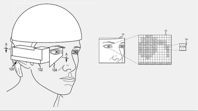 Apple's Patent Sketch for Its Own Retina-ized Version of Google Glasses is Awwwwwkward
