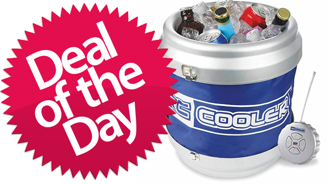 Click here to read This Remote Control Rolling Cooler Is Your Don't-Get-Up-For-The-Rest-Of-The-Summer Deal of the Day