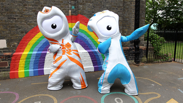 Have You Seen the Olympic Mascots? London Is Just Fucking With Us Now