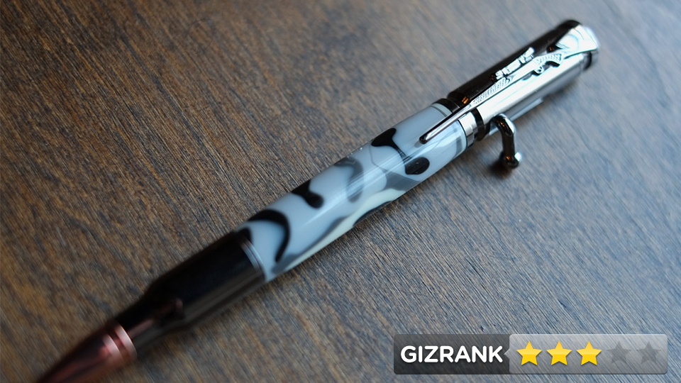 Click here to read Camo Bolt-Action Pen Review: Now &lt;em&gt;That's&lt;/em&gt; A Pocket Protector
