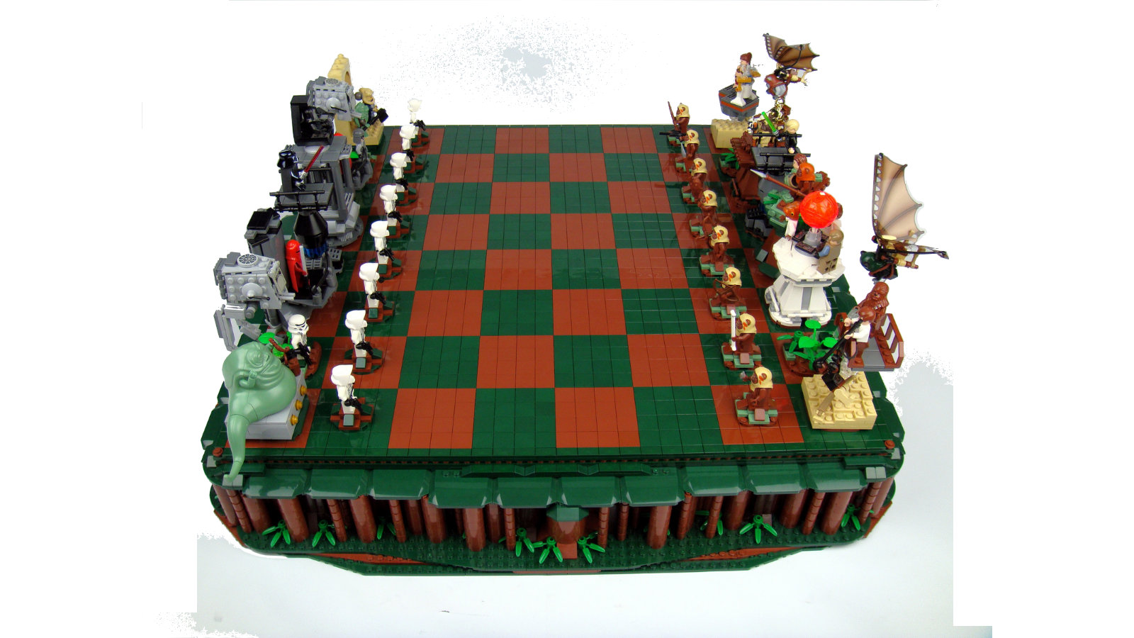Click here to read You've Got to Be Crafty to Take Down the Empire With this LEGO Star Wars Chess Set