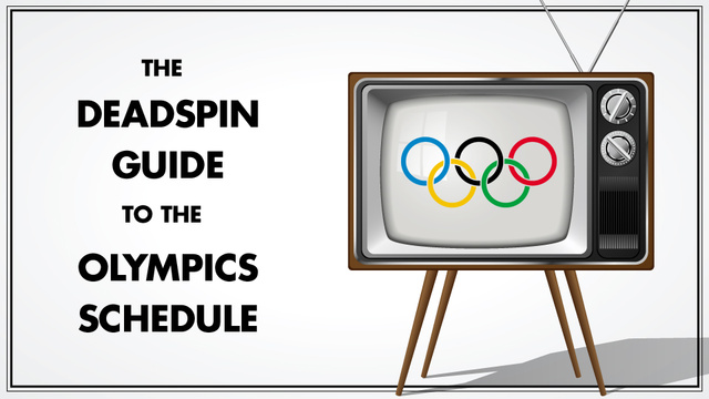 Here Is Your Handy Olympic Master Schedule